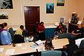 Makeba Alexander, a regional Sexual Assault Victim Intervention (SAVI) educator, gives advice to SAVI advocates Feb. 22, 2007, during a three-day class at Naval Amphibious Base Little Creek, Va 070222-N-AC223-004.jpg