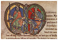 Malcolm IV, King of Scotland, charter to Kelso Abbey, 1159, initial.jpg