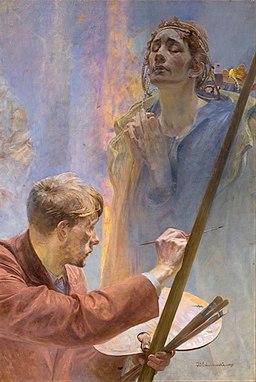 Malczewski artysta i muza
