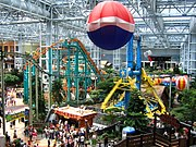 Amusement park at the Mall of America in Bloomington