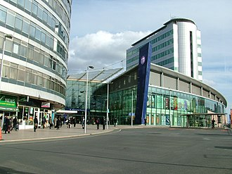 Manchester Piccadilly station - The post-2002 main entrance to the station