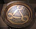 Manifattura tunisina, catino, 1165-1220 ca., da mus. diocesano s. miniato.JPG