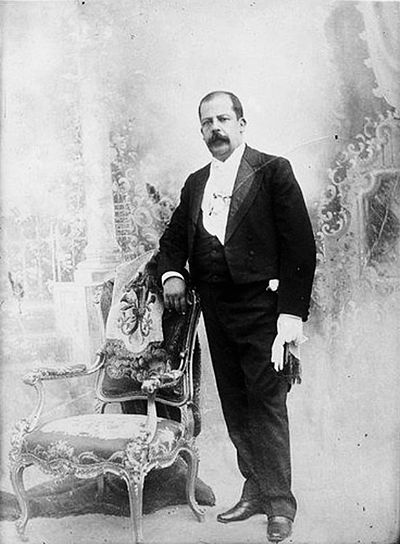 Manuel Estrada Cabrera ruled Guatemala between 1898 and 1920. Manuel Estrada Cabrera.jpg