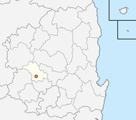 Location of Gumi