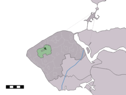 Location of Aagtekerke