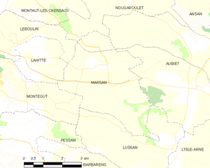 Marsan - Marsan and its surrounding communes