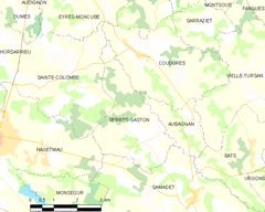 Map commune FR insee code 40298.png