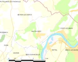 Haute kontz wikipedia for Haute kontz lorraine