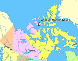 Viscount Melville Sound - Viscount Melville Sound, Nunavut.