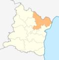 Map of Aksakovo municipality (Varna Province).png