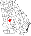 Map of Georgia highlighting Macon County.svg