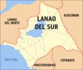 Map of Lanao del Sur.png