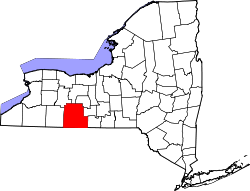 Map of New York highlighting Steuben County.svg