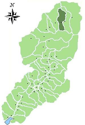 Vione - Location of Vione in Val Camonica