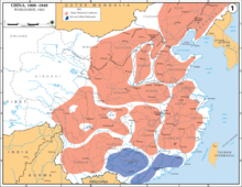Map of major Chinese warlord coalitions 1925.png