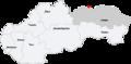 Map slovakia mnisek nad popradom.png