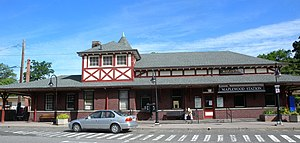 Maplewood station - Station house