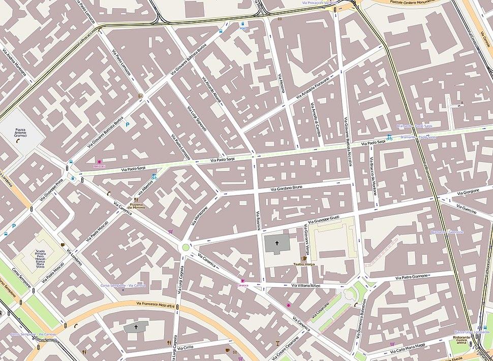 MappaChinatownMilano