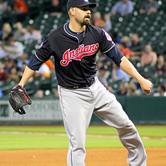 Marc Rzepczynski in Houston with the Indians April 2015.JPG