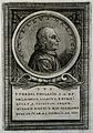 Marcello Malpighi. Line engraving by (C. P. I.). Wellcome V0003806.jpg