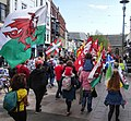March for Welsh Independence arranged by AUOB Cymru First national march; Wales, Europe 44.jpg