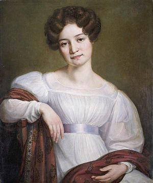 Józef Oleszkiewicz - Image: Maria Volkonskaya (Pushkin museum)