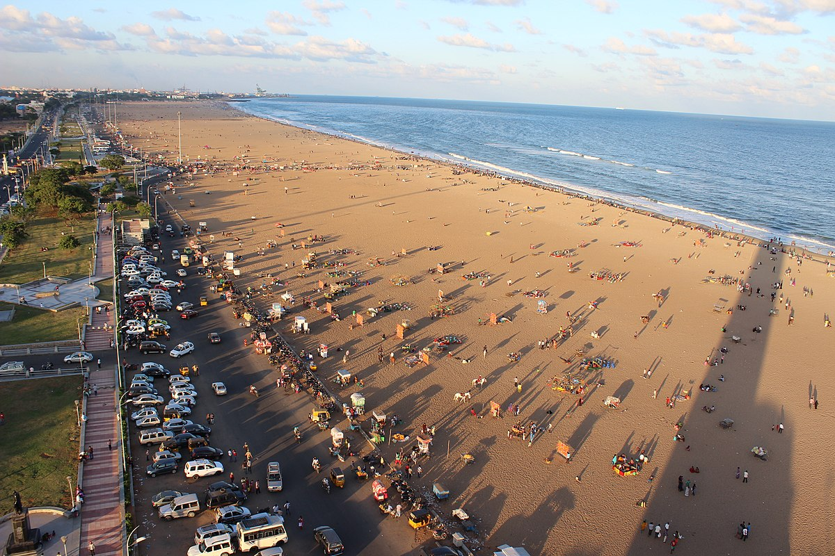 Marina Beach - Wikipedia