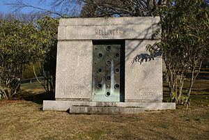 Mark Hellinger - Burial site of Mark and Gladys Hellinger