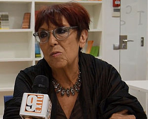 Maruja Torres - Maruja Torres, interviewed by workers of the Valencian public TV.