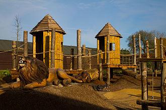 Marwell Zoo - Wild Explorers Playground at Marwell Zoo, Hampshire, England