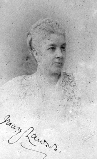 Sir Wilfrid Lawson, 2nd Baronet, of Brayton - Mary Lawson circa 1900
