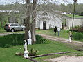 Mary Plantation Guest House Gallery view statues.JPG