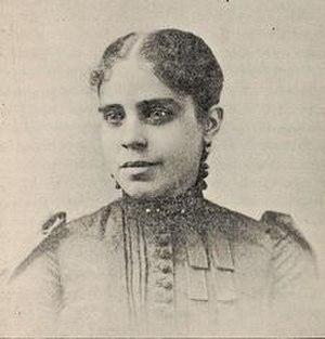 Mary Virginia Cook Parrish - circa 1893