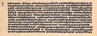 medieval era Sanskrit text, one of eighteen major Puranas