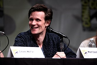 Matt Smith (actor) - Smith speaking at the San Diego Comic-Con International in July 2012.