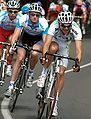 Matt Wilson and Rory Sutherland 2008 Bay Cycling Classic Stage5.jpg