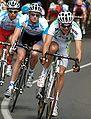 Matt Wilson and Rory Sutherland 2008 Bay Cycling Classic Stage5.jpg