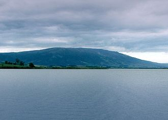 Lake Waihola - Looking north towards Maungatua