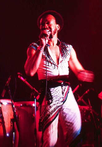 Maurice White - White performing with Earth, Wind, and Fire at the Ahoy Rotterdam, The Netherlands, 1982.