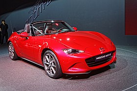 Mazda MX-5 - Mondial de l'Automobile de Paris 2014 - 002.jpg