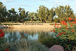 McCormick Ranch human settlement in Arizona, United States of America
