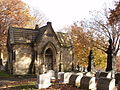 McCutcheon Mausoleum, Union Dale Cemetery, November.jpg