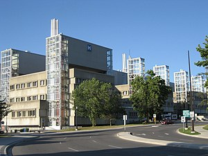 Hospital - McMaster University Medical Centre, a teaching hospital in Canada