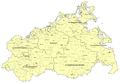 Mecklenburg-Vorpommern - Karte der Ämter und der amtsfreien Gemeinden 2011.png