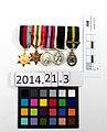 Medal set (miniature) (AM 2014.21.3-4).jpg