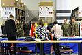 Medien bei der Olympia-Einkleidung Erding 2014 (Martin Rulsch) 01.jpg