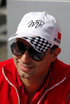 Mehdi Bennani - Bennani at the 2014 FIA WTCC Race of Belgium.