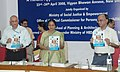 "Meira Kumar releasing the ""Guidebook on Creating Sporting and Recreational Activities for Persons with Disabilities"" the workshop on ""A Holistic Approach for Access to Physical Environment, in New Delhi on April 23, 2008.jpg"