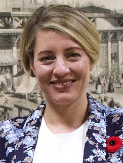 Mélanie Joly Canadian politician and lawyer