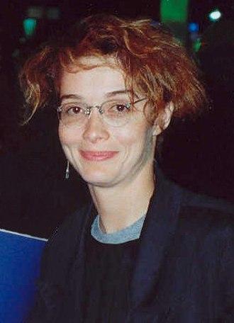 Melanie Mayron - Mayron at the AIDS Project Los Angeles (APLA) benefit, 1990